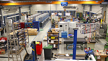 Assembly of packaging machines and special machines at Rühle & Co. Maschinenbau GmbH in Walzbachtal