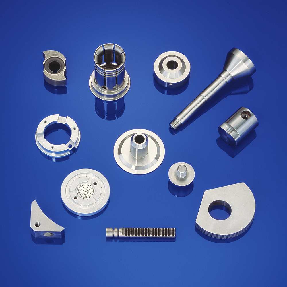 Clamping and centering parts for automation plants and for packaging machine manufacturing