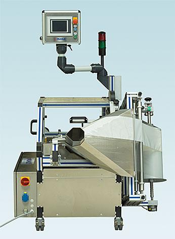 Infeed side universal film packaging machine VA-3