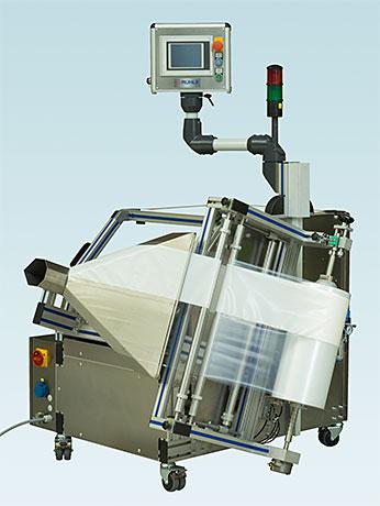 Operator side universal film packaging machine VA-3