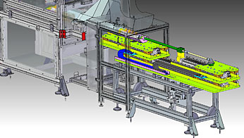 Design Special feeding system Packaging machine