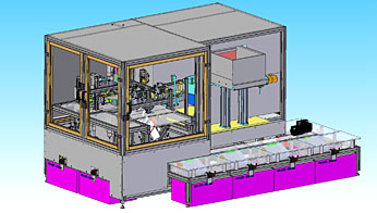Design Sorting, machining and testing device